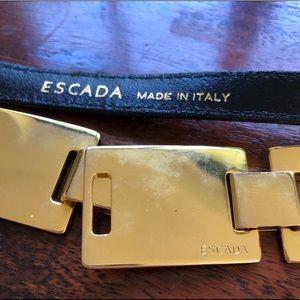 ESCADA gold belt